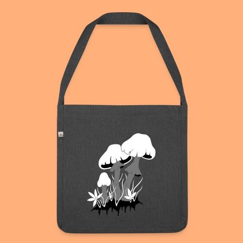 champignons - Sac bandoulière 100 % recyclé