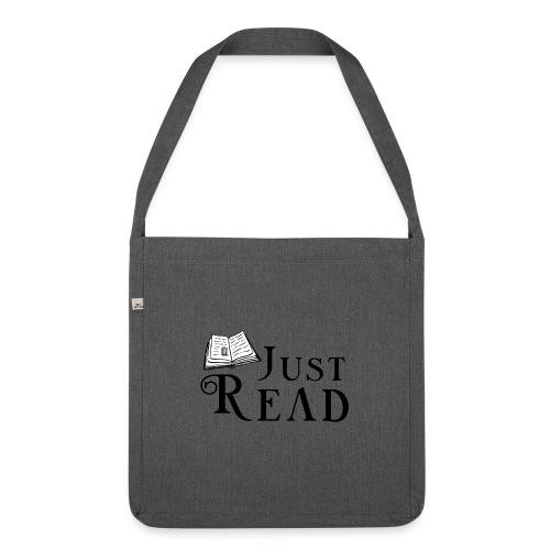 Just Read - Skuldertaske af recycling-material