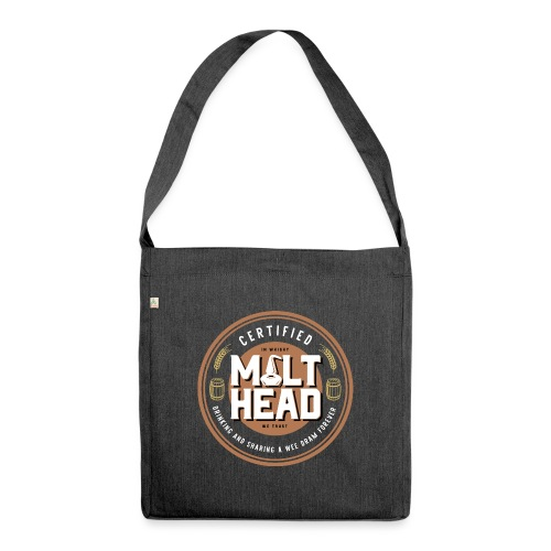 Certified MaltHead - Schultertasche aus Recycling-Material
