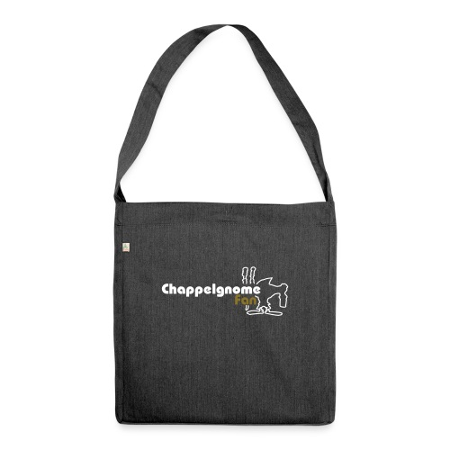 chappelgnome fan logo - Schultertasche aus Recycling-Material