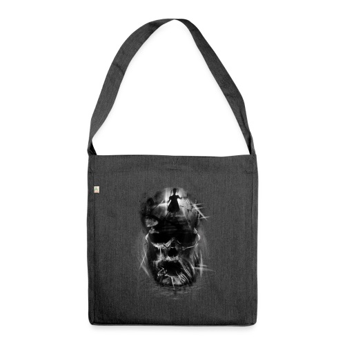 Out of the light - Shoulder Bag made from recycled material