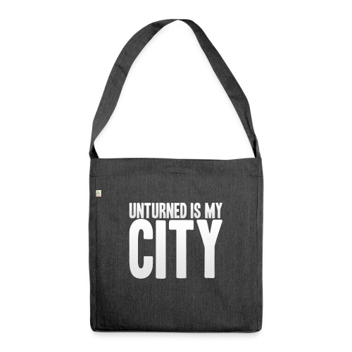 Unturned is my city - Shoulder Bag made from recycled material