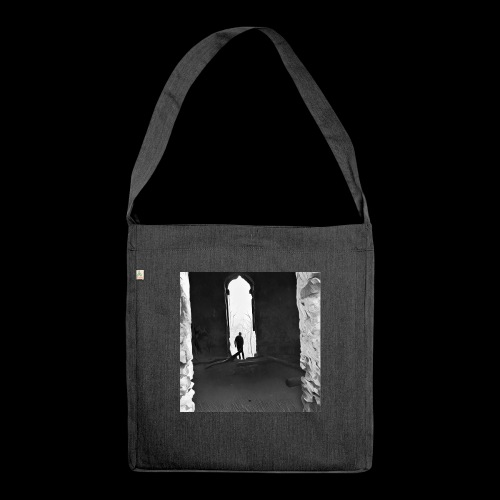 Misted Afterthought - Shoulder Bag made from recycled material