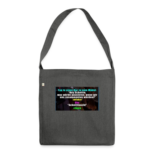 SchnitLauch - Schultertasche aus Recycling-Material