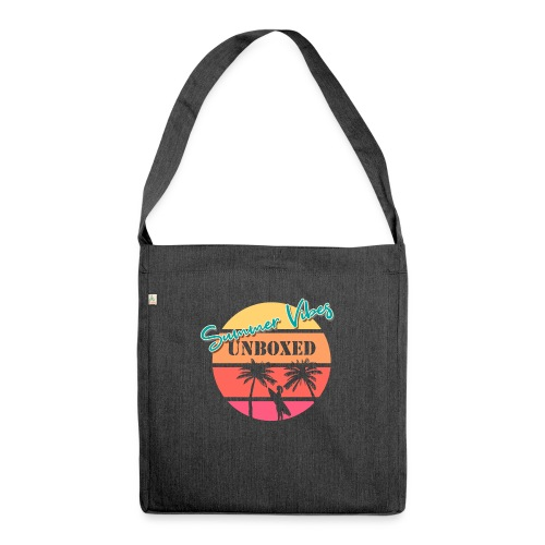 Summer Vibes UNBOXED - Schultertasche aus Recycling-Material