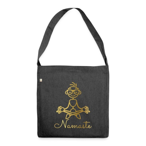 Namaste - Shoulder Bag made from recycled material