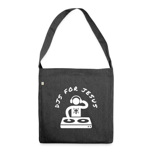 DJS FOR JESUS - Shoulder Bag made from recycled material