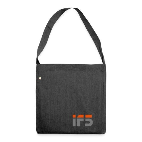 if5 logo - Schultertasche aus Recycling-Material