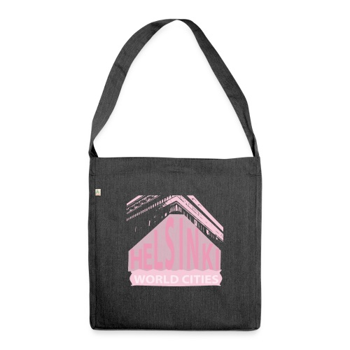 Helsinki light pink - Shoulder Bag made from recycled material