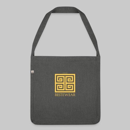 #Bestewear - Golden Snake - Schultertasche aus Recycling-Material