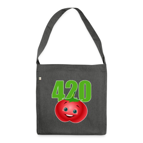 Tomate 420 - Schultertasche aus Recycling-Material