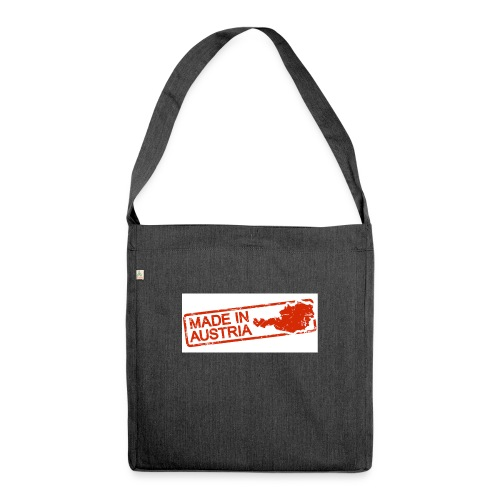65186766 s - Schultertasche aus Recycling-Material