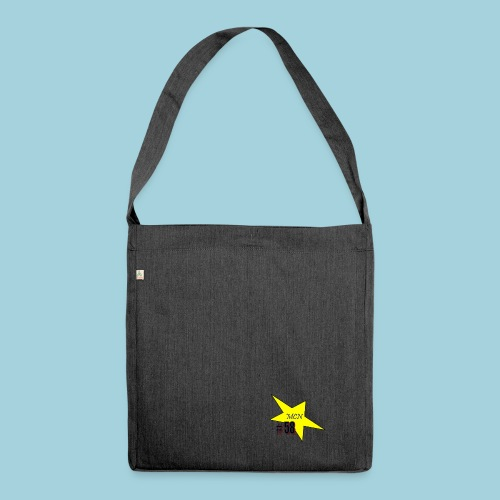 MCN Stern - Schultertasche aus Recycling-Material