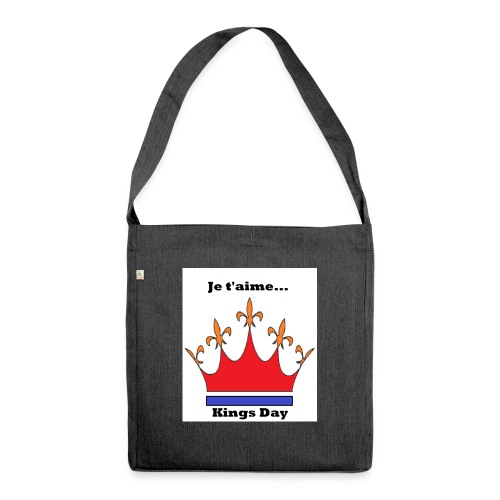 Je taime Kings Day (Je suis...) - Schoudertas van gerecycled materiaal