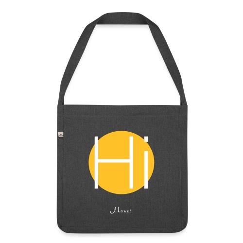 Hi circle - Shoulder Bag made from recycled material