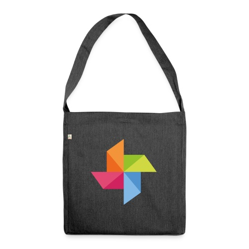 windrad freigestellt 2014 png - Schultertasche aus Recycling-Material