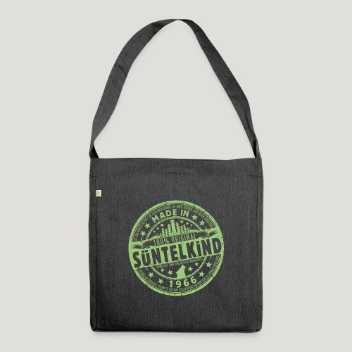 SÜNTELKIND 1966 - Das Süntel Shirt mit Süntelturm - Schultertasche aus Recycling-Material