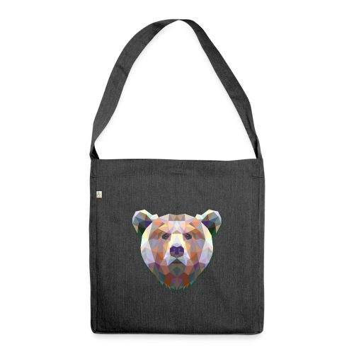 Bear - Borsa in materiale riciclato