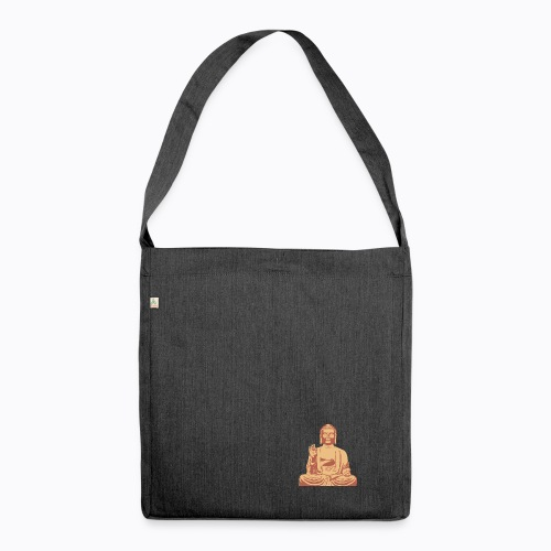 buddha om - Shoulder Bag made from recycled material