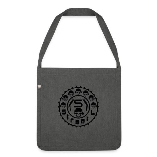 rawstyles rap hip hop logo money design by mrv - Torba na ramię z materiału recyklingowego