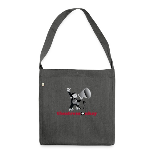 Sammy Says It Loud - Shoulder Bag made from recycled material