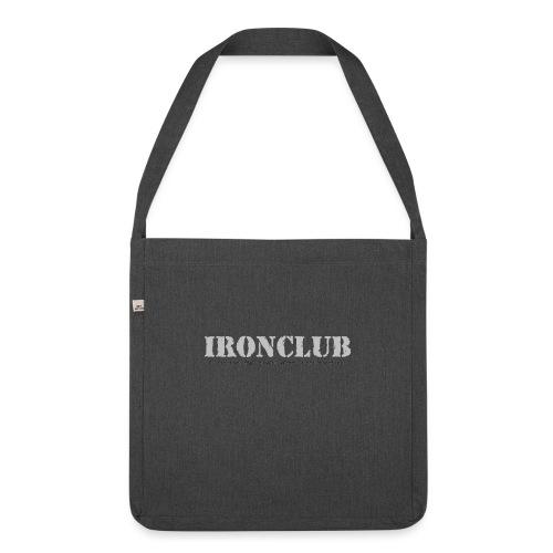 IRONCLUB - a way of life for everyone - Skulderveske av resirkulert materiale