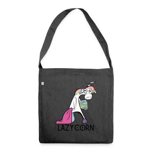 LazyCorn - Schultertasche aus Recycling-Material