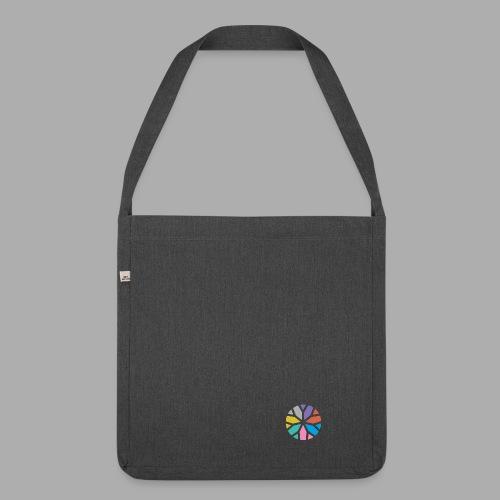 Yogablume - Schultertasche aus Recycling-Material