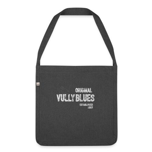 Ursprüngliches Vully Blues White Logo - Schultertasche aus Recycling-Material
