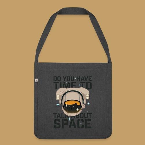 Time for Space - Torba na ramię z materiału recyklingowego