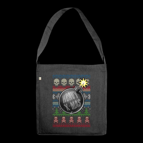 Heavy X-Mas Christbaumkugel-Bombe - Schultertasche aus Recycling-Material