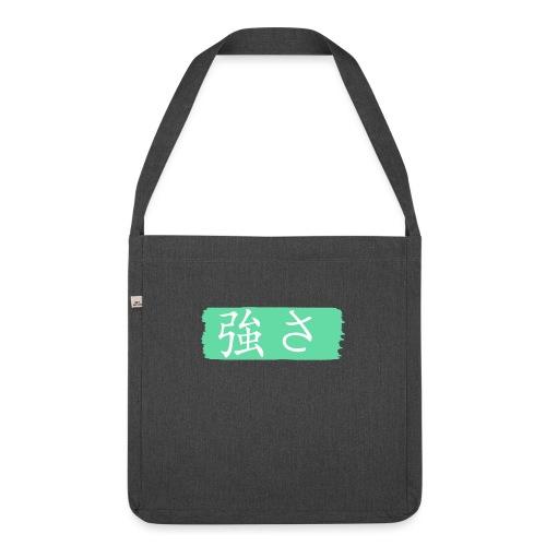 Kanji Giapponese - Forza - Borsa in materiale riciclato