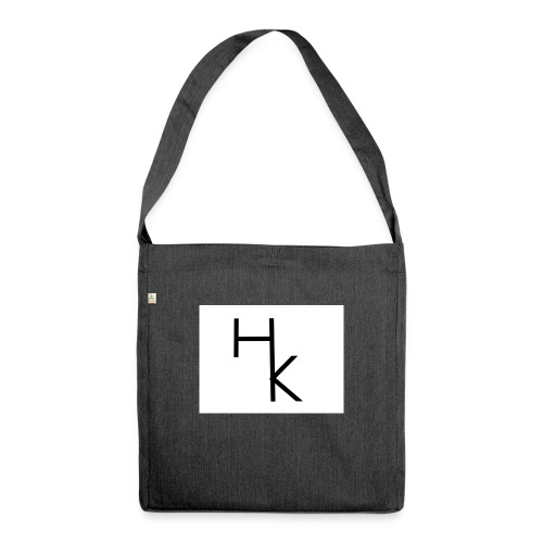 White season - Schultertasche aus Recycling-Material