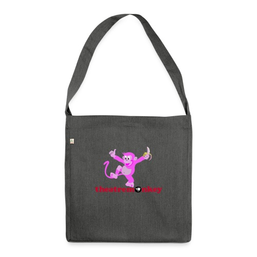 Sammy is In The Pink! - Shoulder Bag made from recycled material