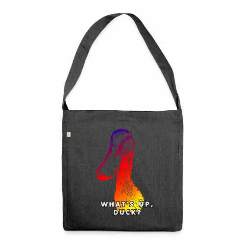 what's up duck - Color - Shoulder Bag made from recycled material