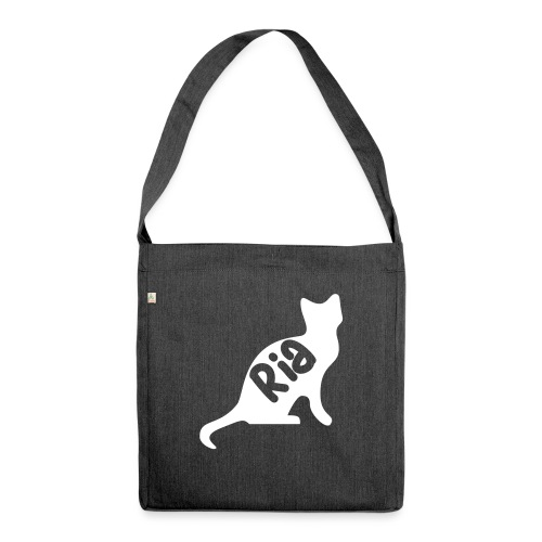 Team Ria Cat - Shoulder Bag made from recycled material