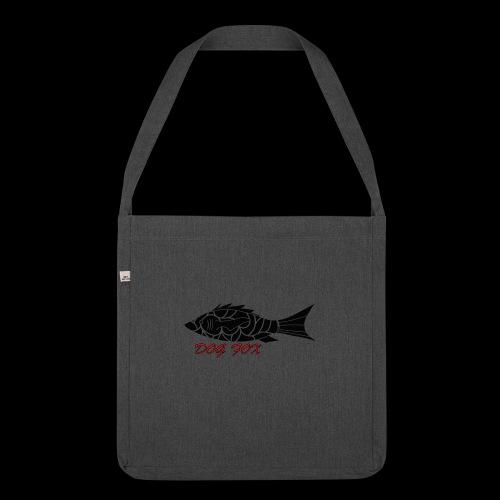 Dogfox Fisch - Schultertasche aus Recycling-Material