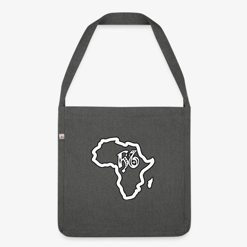 afrika pictogram - Schoudertas van gerecycled materiaal