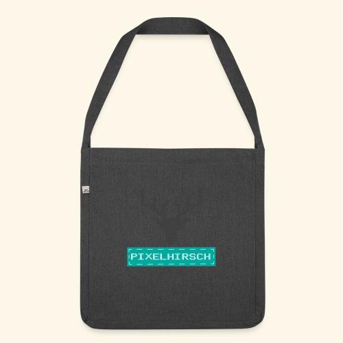 PIXELHIRSCH - Logo - Schultertasche aus Recycling-Material