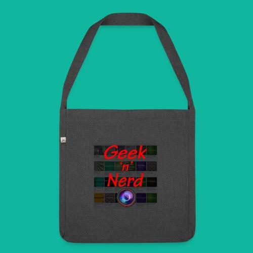 Geek n Nerd Logo jpg - Shoulder Bag made from recycled material