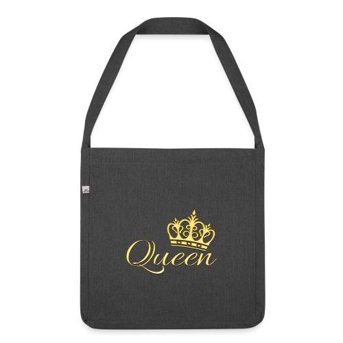 Queen Or -by- T-shirt chic et choc - Sac bandoulière 100 % recyclé