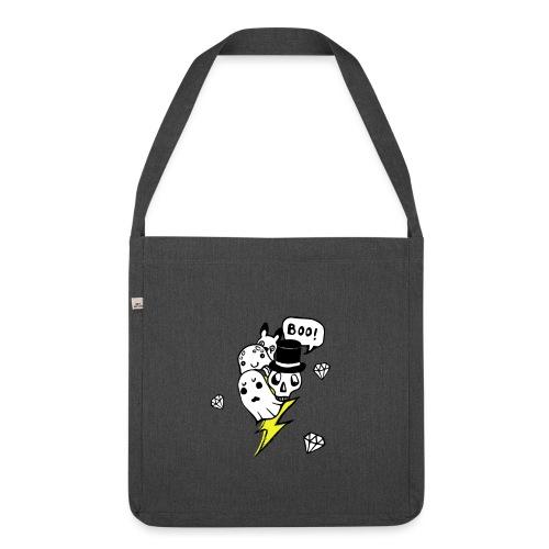 Boo! - Torba na ramię z materiału recyklingowego