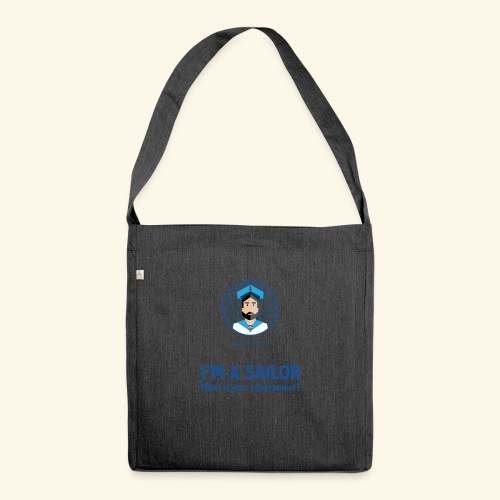 SeaProof Superpower - Schultertasche aus Recycling-Material