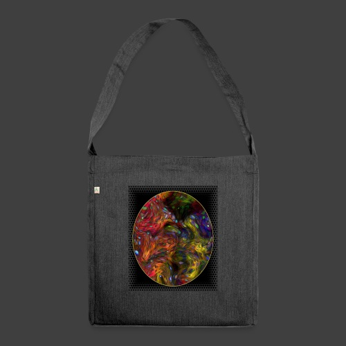 Who will arrive first - Shoulder Bag made from recycled material
