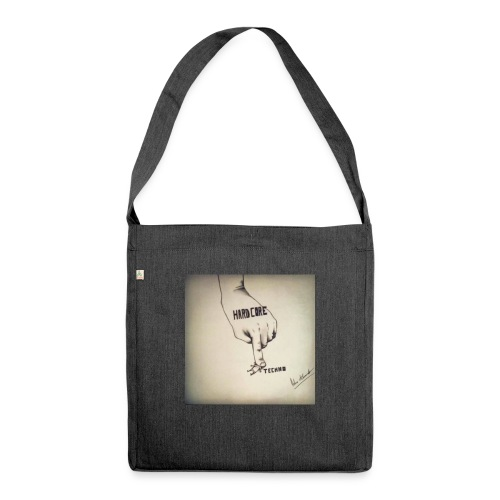 DerHardstyle.ch Hard_Core Techno - Schultertasche aus Recycling-Material