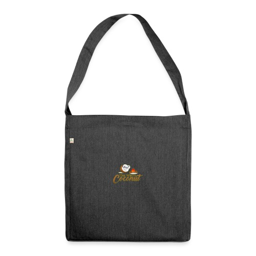 The warm coconut campfire - Shoulder Bag made from recycled material