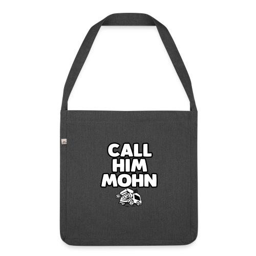 CallHimMohn - Schultertasche aus Recycling-Material