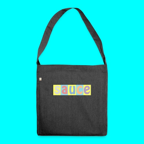 sauce - Shoulder Bag made from recycled material