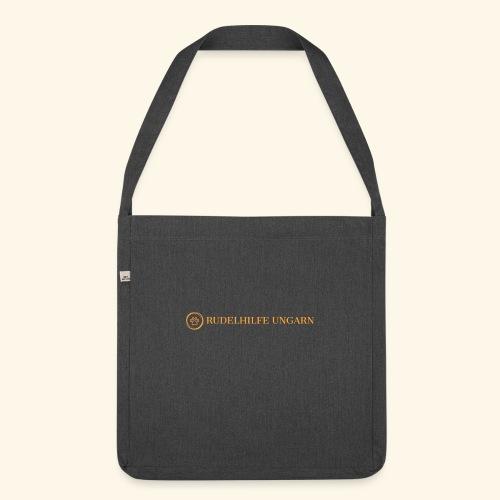 Rudelhilfe Logo - Schultertasche aus Recycling-Material