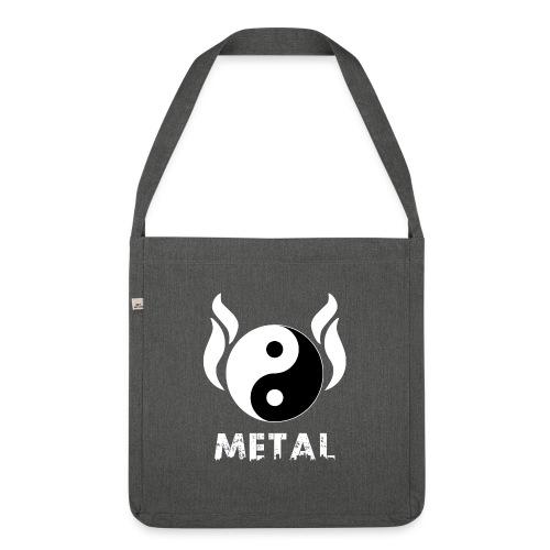 YIN YANG METAL - Schultertasche aus Recycling-Material